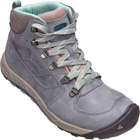 Keen Westward Leather WP Mid Shoes Women turbulance/ stormy weather